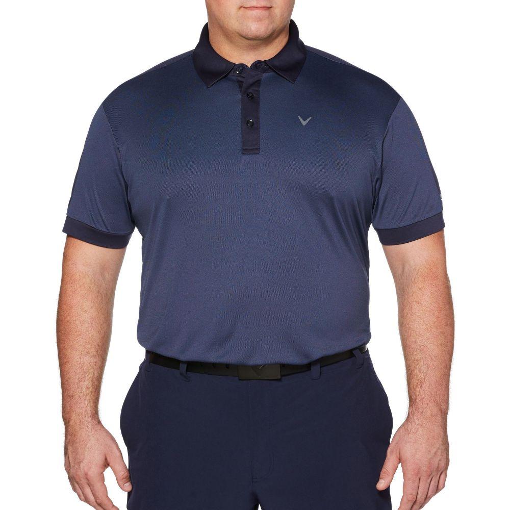 キャロウェイ Callaway メンズ ゴルフ ポロシャツ トップス【Birdseye Golf Polo】Peacoat
