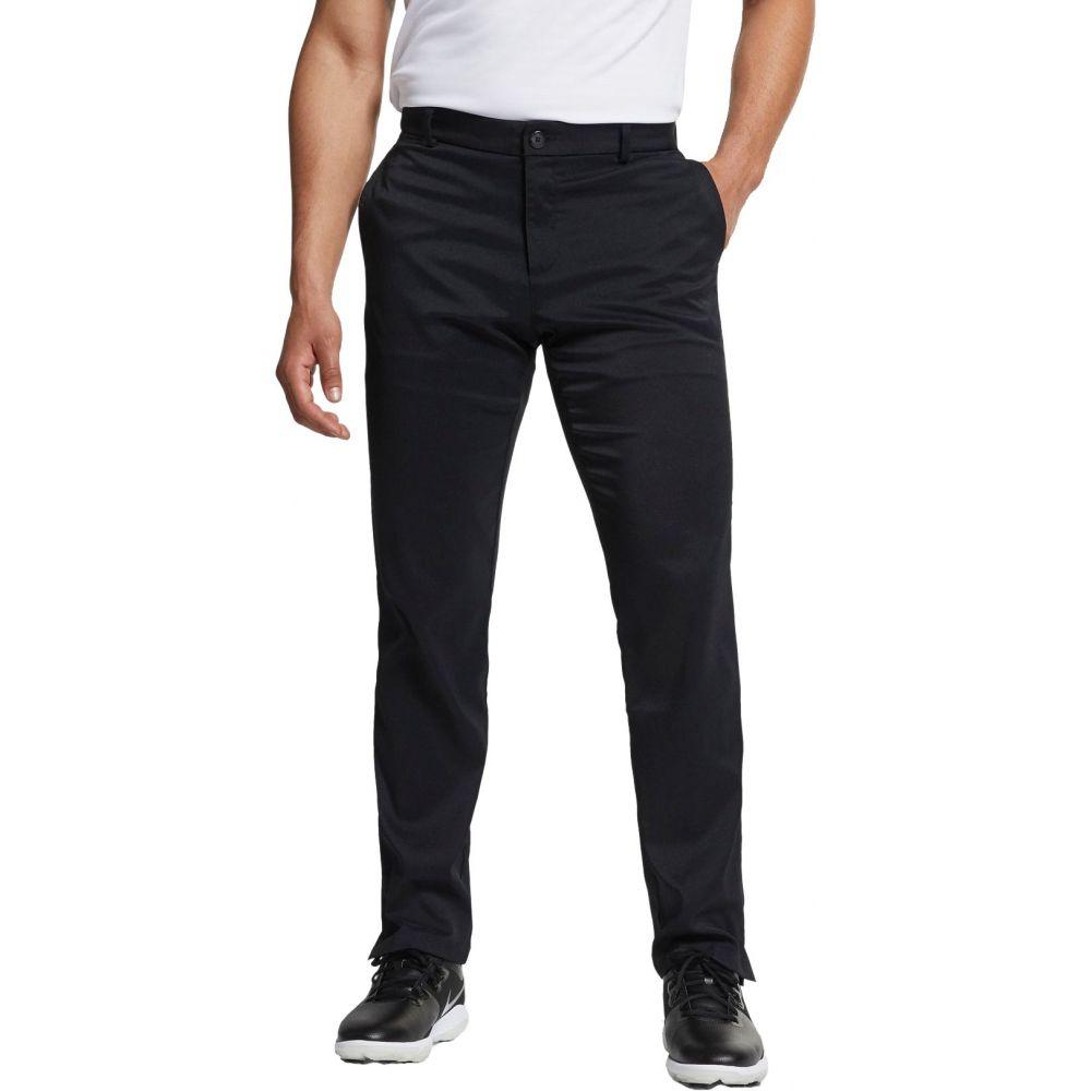 ナイキ メンズ ゴルフ ボトムス・パンツ 【サイズ交換無料】 ナイキ Nike メンズ ゴルフ ボトムス・パンツ【Flat Front Flex Golf Pants】Black