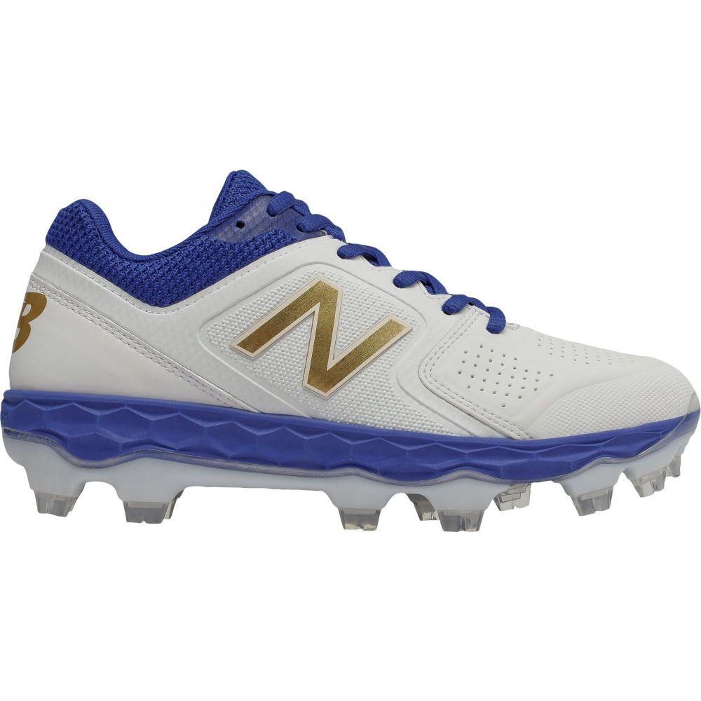 ニューバランス New Balance レディース 野球 スパイク シューズ・靴【Fresh Foam Velo 1 Softball Cleats】Royal/Gold