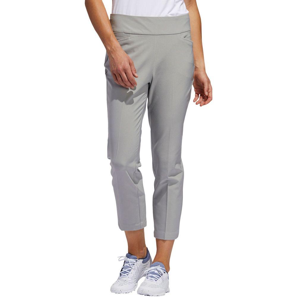アディダス adidas レディース ゴルフ アンクル クロップド ボトムス・パンツ【Pull-On Ankle Golf Pants】Grey