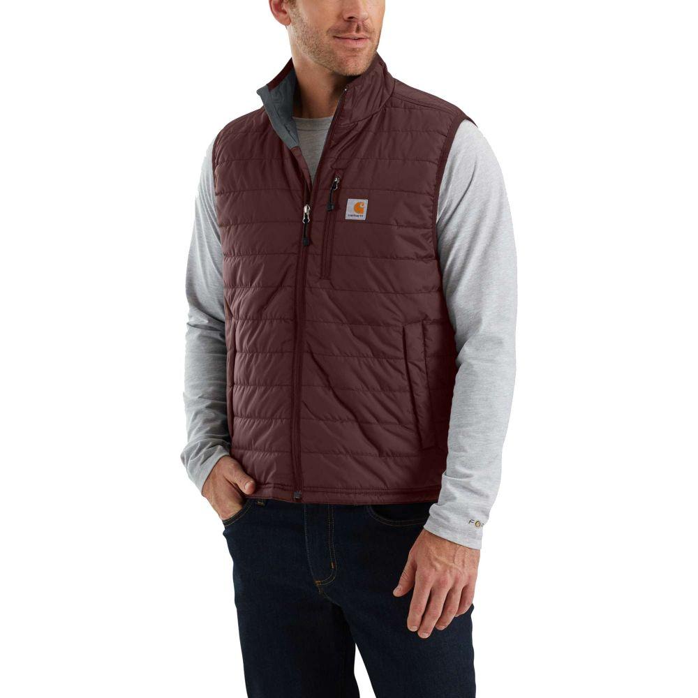 カーハート Carhartt メンズ ベスト・ジレ トップス【Gilliam Vest (Regular and Big & Tall)】Dark Cedar