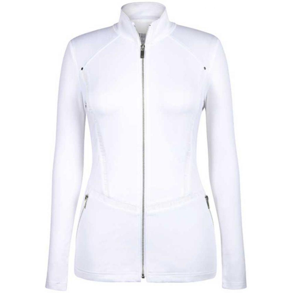 テイル Tail レディース ゴルフ ジャケット アウター【Full Zip Golf Jacket】White