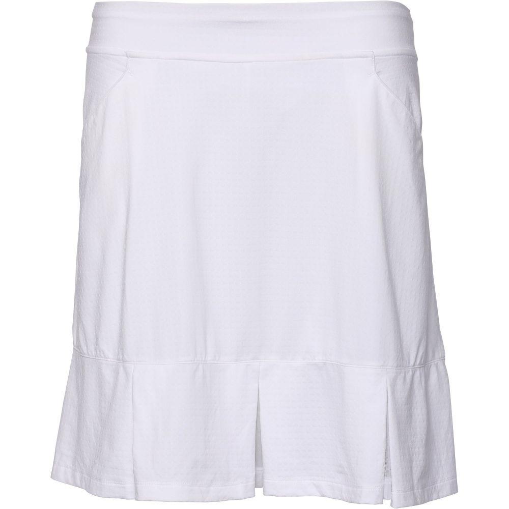 ベッティ&コート Bette & Court レディース ゴルフ スカート ボトムス・パンツ【Twirl Pull-On Golf Skirt】White