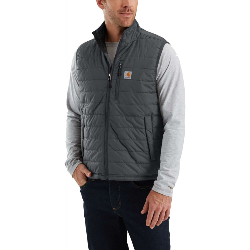 カーハート Carhartt メンズ ベスト・ジレ トップス【Gilliam Vest (Regular and Big & Tall)】Shadow