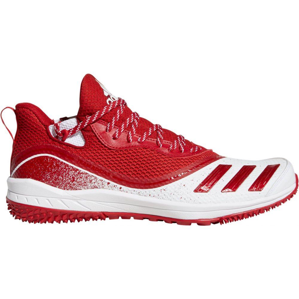 アディダス adidas メンズ 野球 シューズ・靴【Icon V TF Baseball Turf Shoes】Red/White