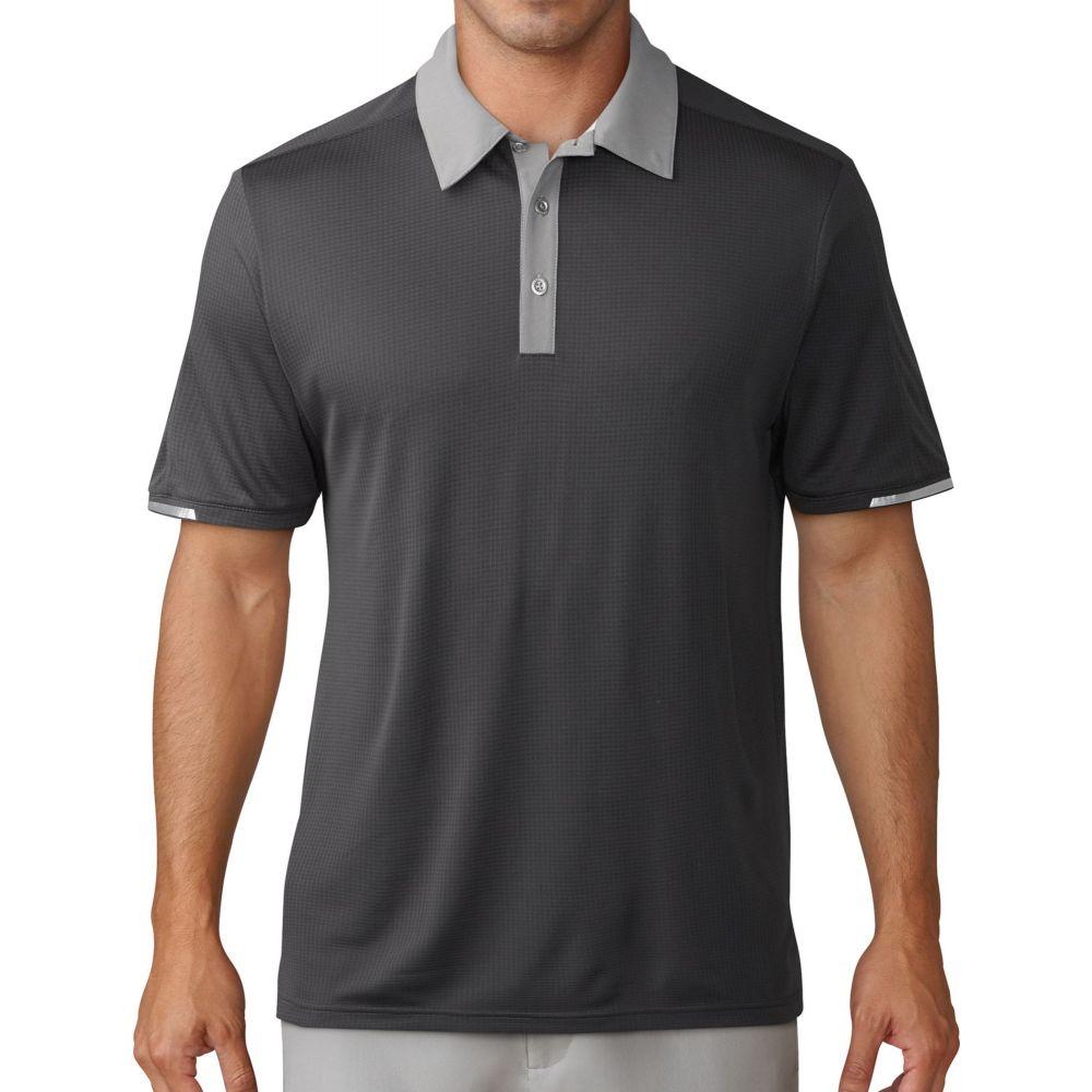 アディダス adidas メンズ ゴルフ ポロシャツ トップス【climachill Iconic Golf Polo】Carbon/Grey Three