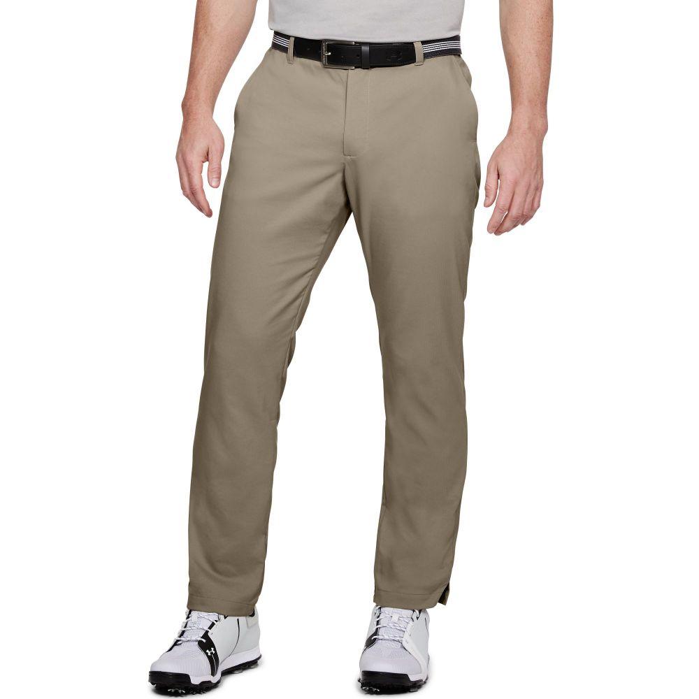 アンダーアーマー Under Armour メンズ ゴルフ ボトムス・パンツ【Showdown Straight Golf Pants】City Khaki