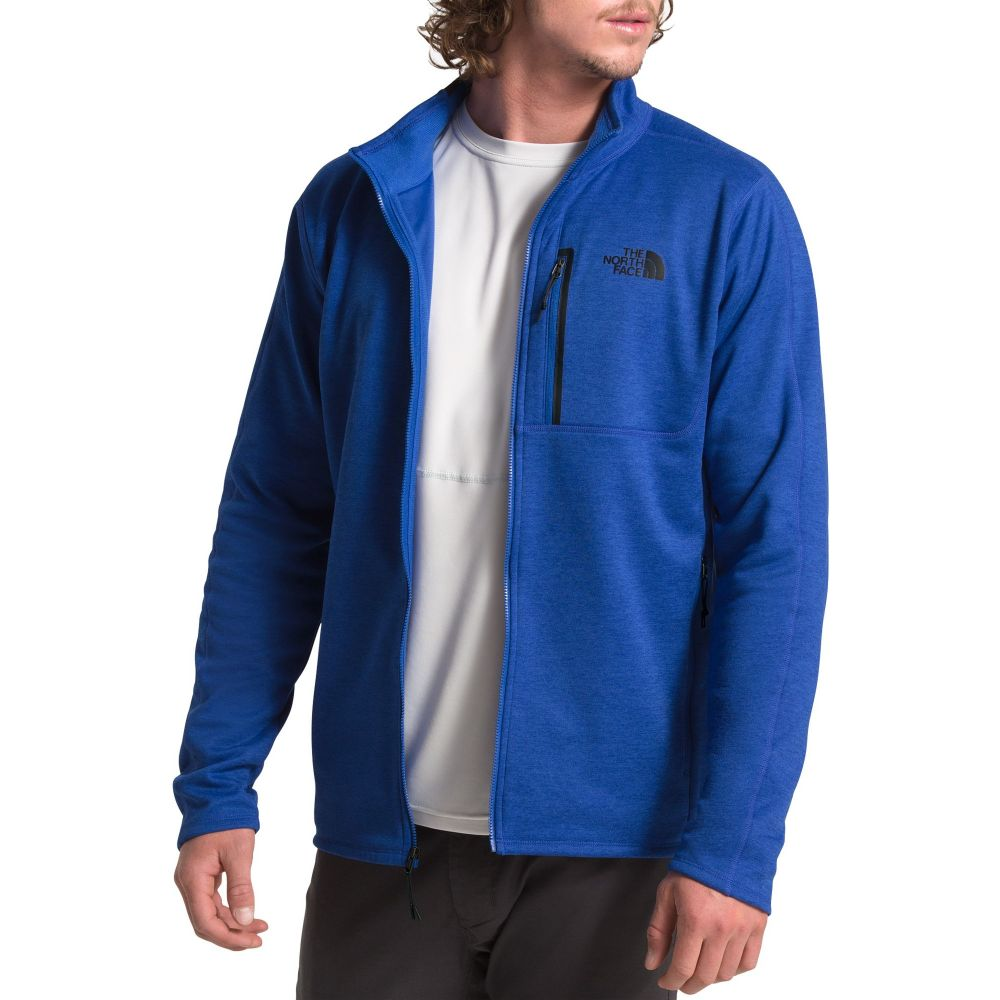 ザ ノースフェイス The North Face メンズ フリース トップス【Cynlands Full Zip Fleece Jacket】Tnf Blue Heather
