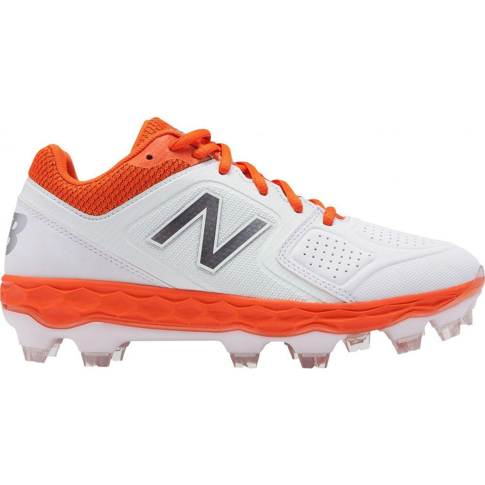 ニューバランス New Balance レディース 野球 スパイク シューズ・靴【Fresh Foam Velo 1 Softball Cleats】Orange/Silver