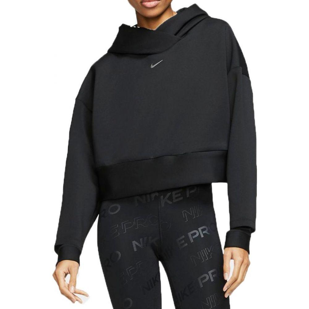 ナイキ Nike レディース パーカー トップス【Pro Pullover Fleece Hoodie】Black