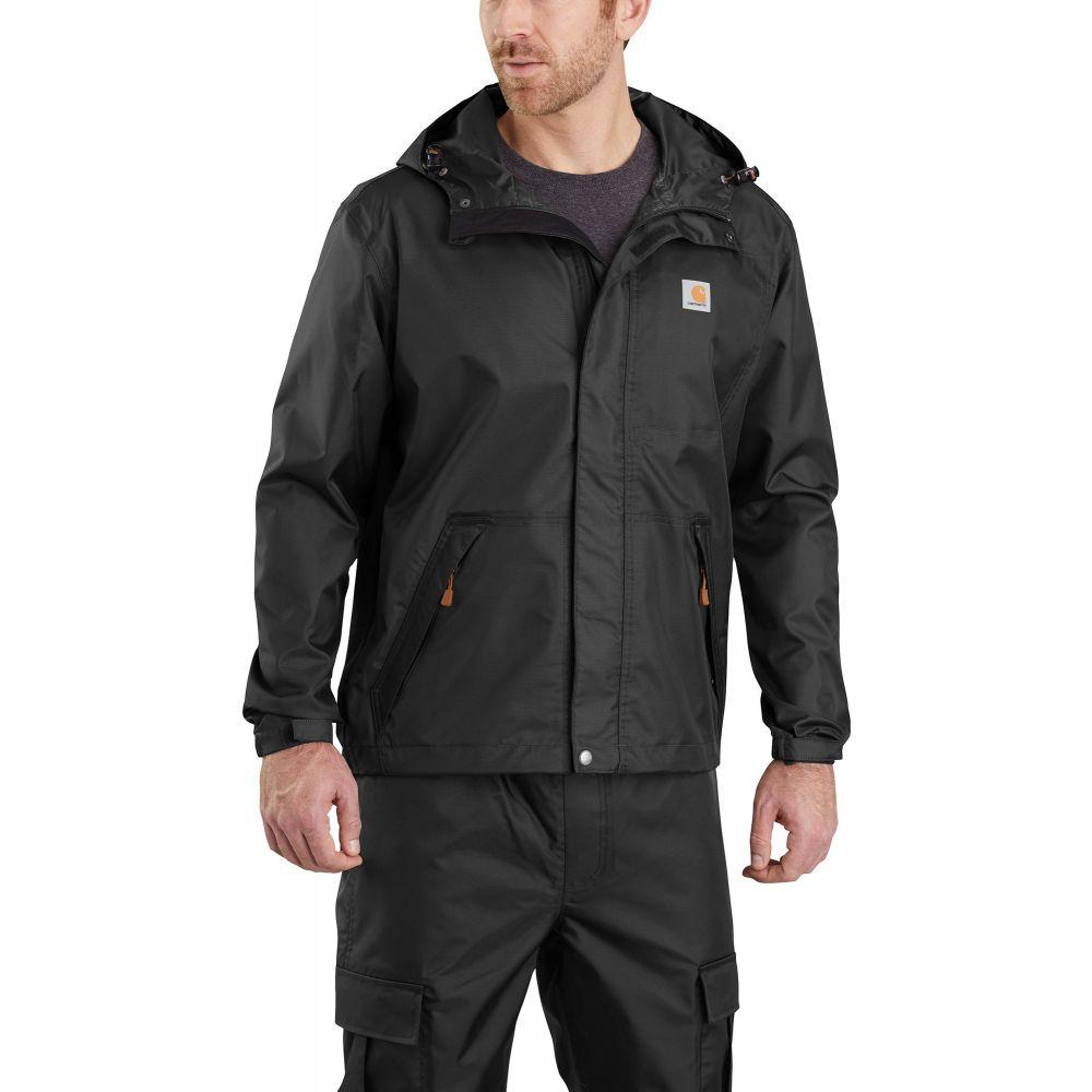 カーハート Carhartt メンズ レインコート アウター【Dry Harbor Rain Jacket】Black