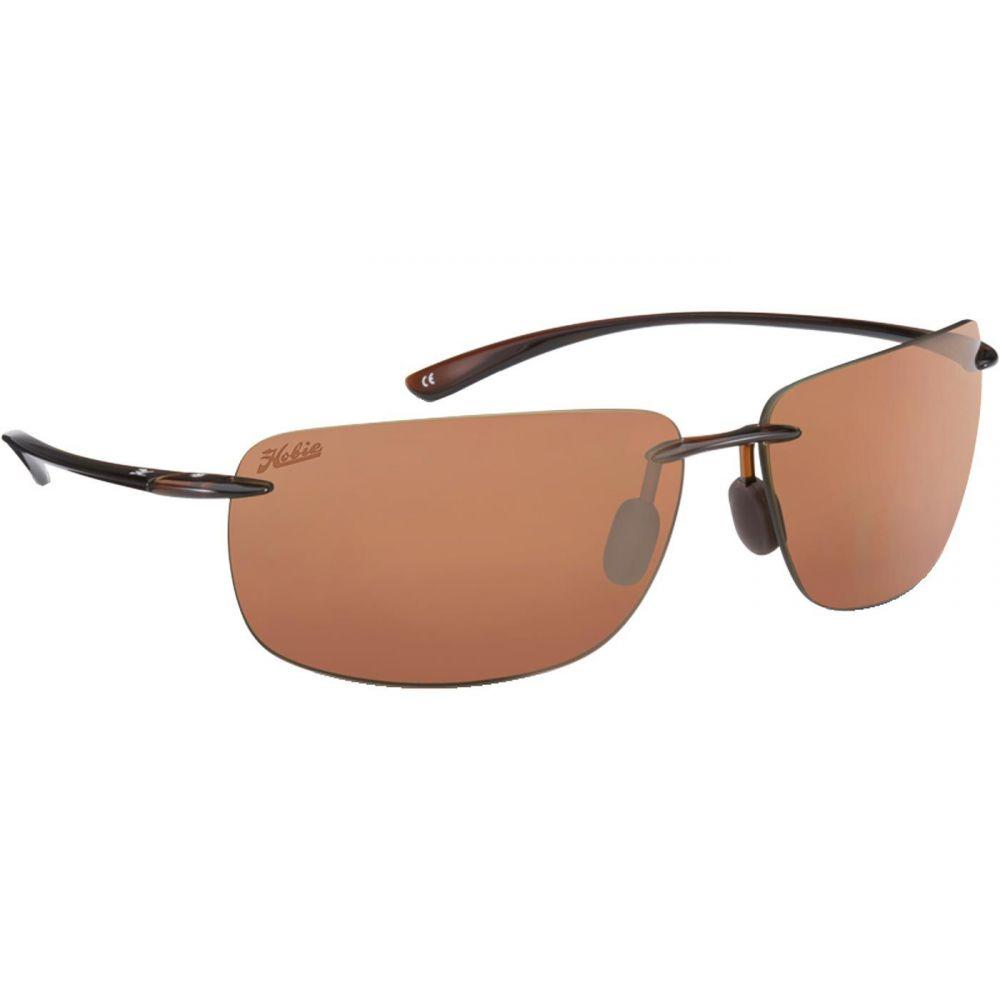 ホビー Hobie メンズ メガネ・サングラス 【Rips Polarized Sunglasses】Brown/Brown