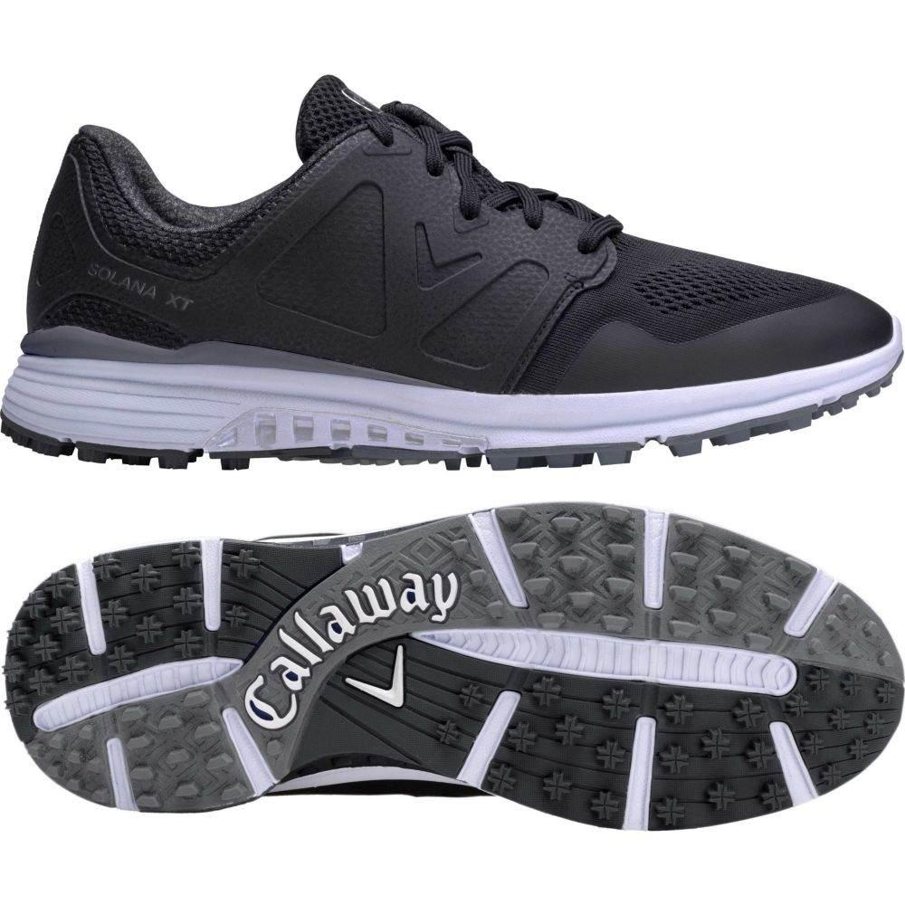 キャロウェイ Callaway メンズ ゴルフ シューズ・靴【Solana XT Golf Shoes】Black