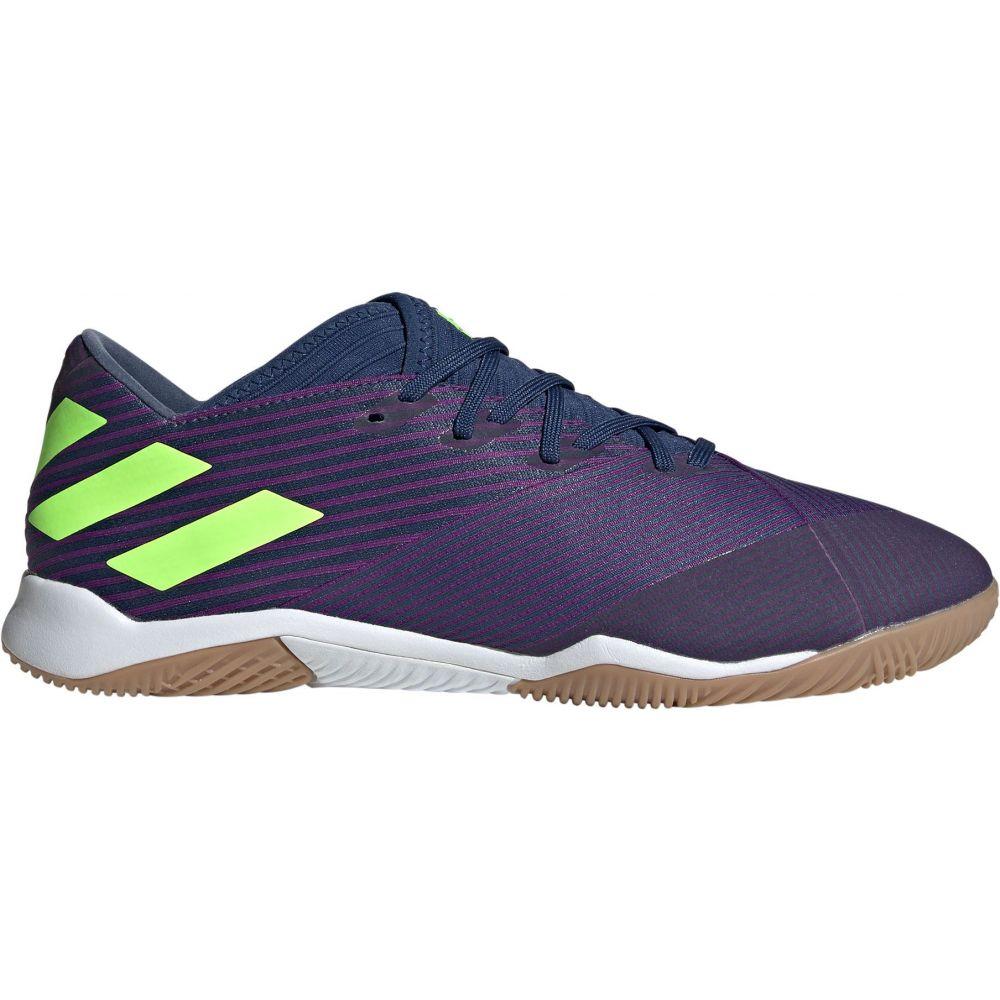 アディダス adidas メンズ サッカー シューズ・靴【Nemeziz Messi 19.3 Indoor Soccer Shoes】Purple/Green