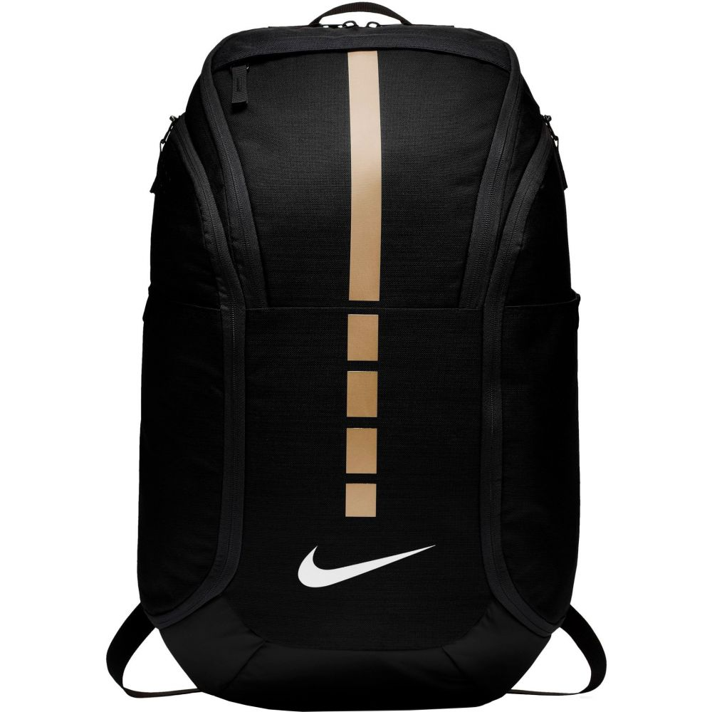 ナイキ Nike ユニセックス バスケットボール バックパック・リュック【Hoops Elite Pro Basketball Backpack】Black/Metallic Gold