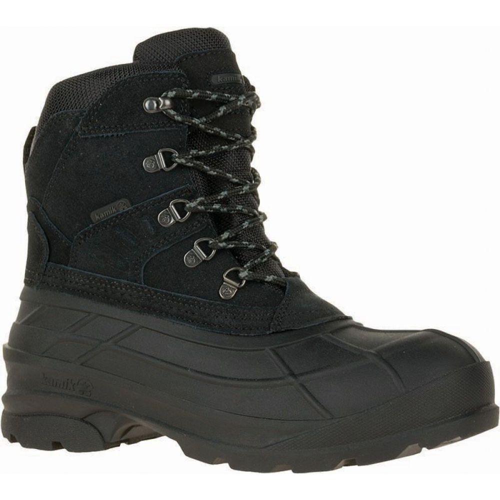 カミック Kamik メンズ ブーツ ウインターブーツ シューズ・靴【Fargo Insulated Waterproof Winter Boots】Black