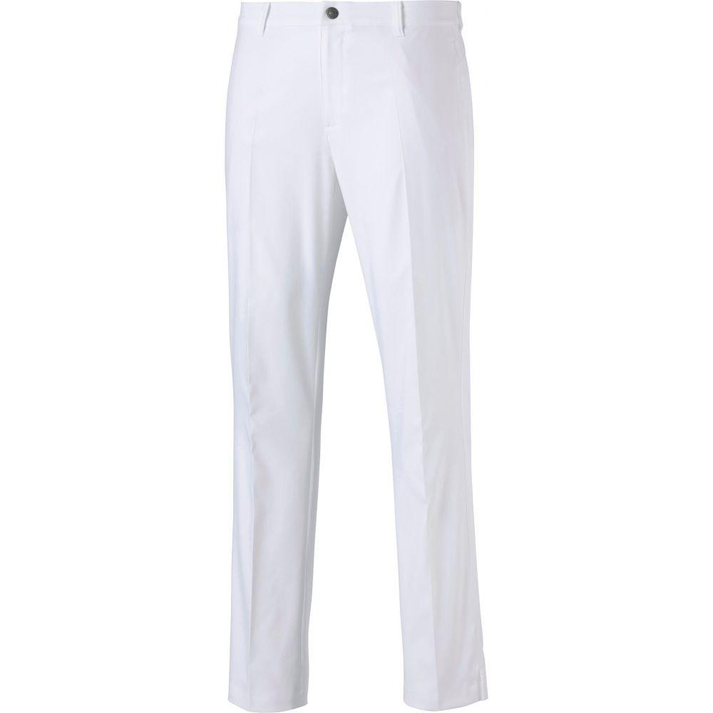 プーマ PUMA メンズ ゴルフ ボトムス・パンツ【Jackpot Golf Pants】Bright White