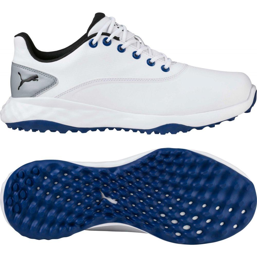 プーマ PUMA メンズ ゴルフ シューズ・靴【GRIP FUSION Golf Shoes】White/Blue
