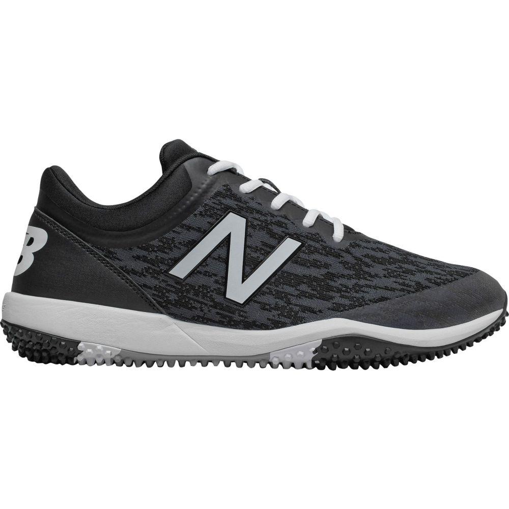 ニューバランス New Balance メンズ 野球 スパイク シューズ・靴【4040 v5 Turf Baseball Cleats】Black/White