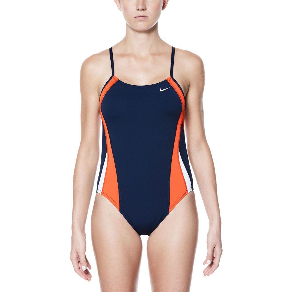 ナイキ Nike レディース ワンピース 水着・ビーチウェア【Poly Color Surge Cut-Out One Piece Swimsuit】Team Orange