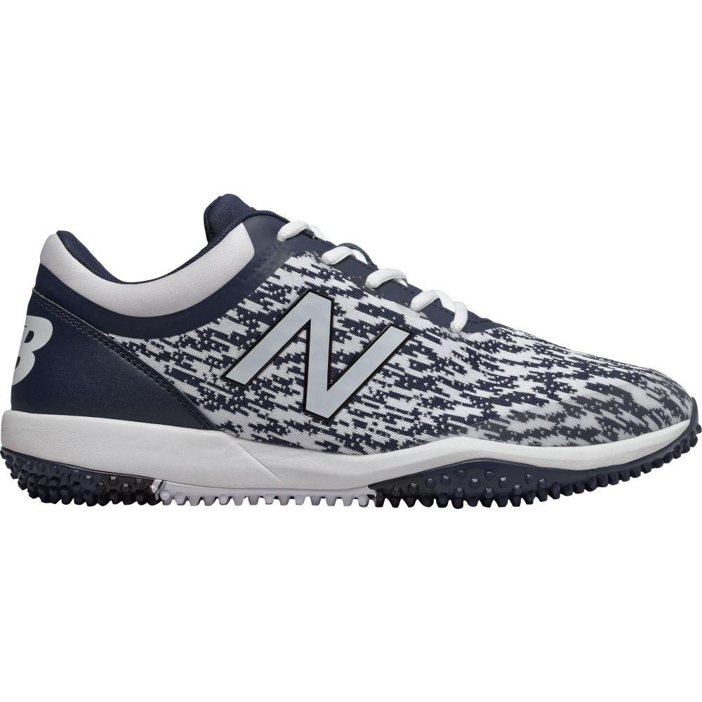 ニューバランス New Balance メンズ 野球 スパイク シューズ・靴【4040 v5 Turf Baseball Cleats】Navy/White