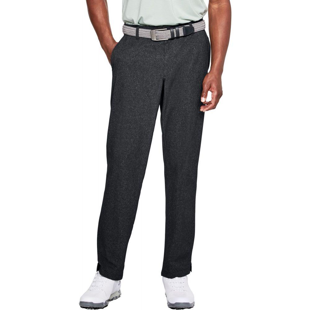 アンダーアーマー Under Armour メンズ ゴルフ ボトムス・パンツ【Showdown Vented Golf Pants】Black Heather
