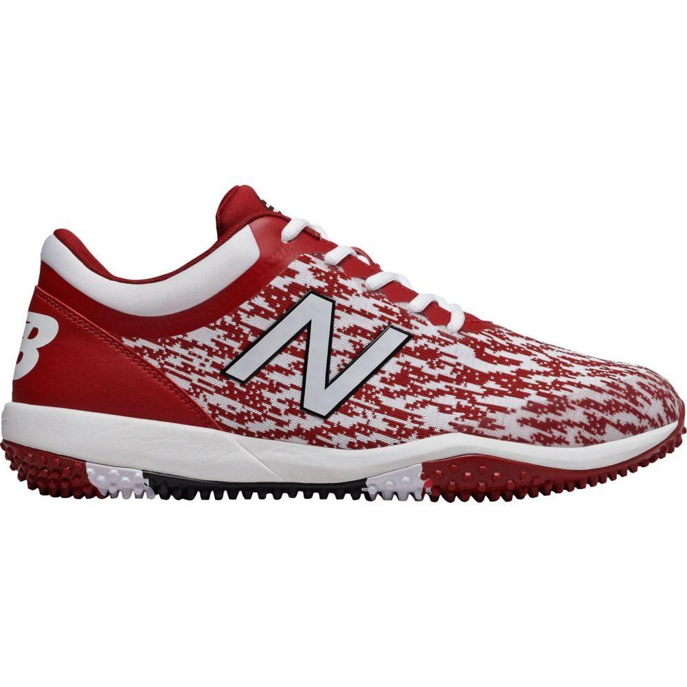ニューバランス New Balance メンズ 野球 スパイク シューズ・靴【4040 v5 Turf Baseball Cleats】Maroon/White