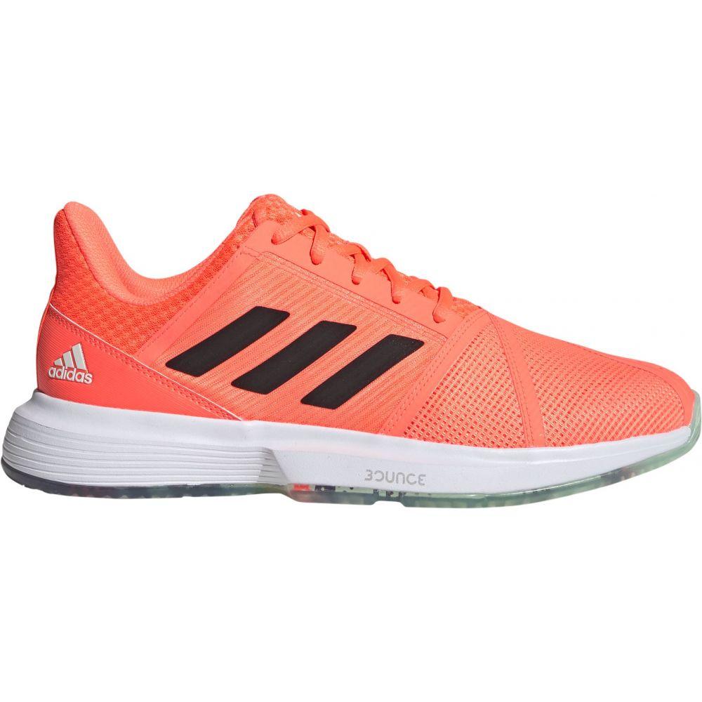 アディダス メンズ テニス シューズ・靴 【サイズ交換無料】 アディダス adidas メンズ テニス シューズ・靴【CourtJam Bounce Tennis Shoes】Green/Purple