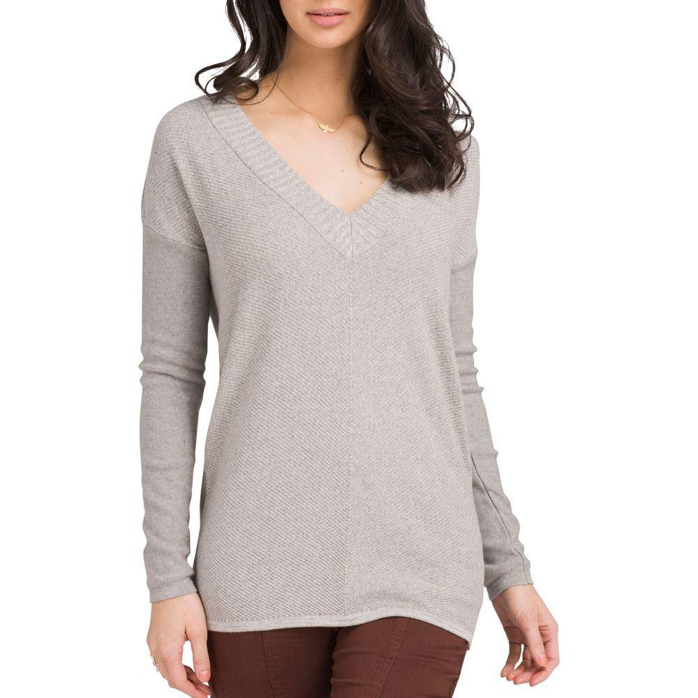プラーナ prAna レディース チュニック トップス【Cedros Sweater Tunic】Grey Heather