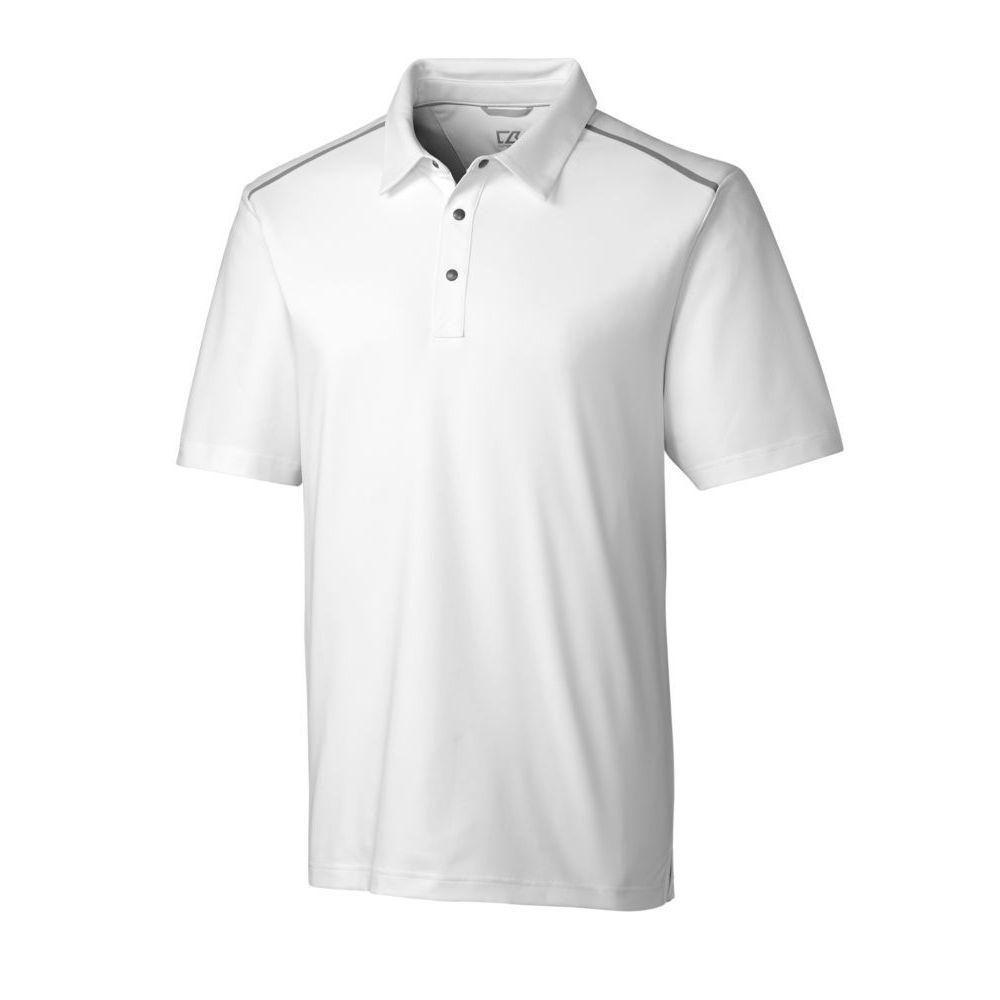 カッター&バック Cutter & Buck メンズ ゴルフ ポロシャツ トップス【Fusion Golf Polo】白い
