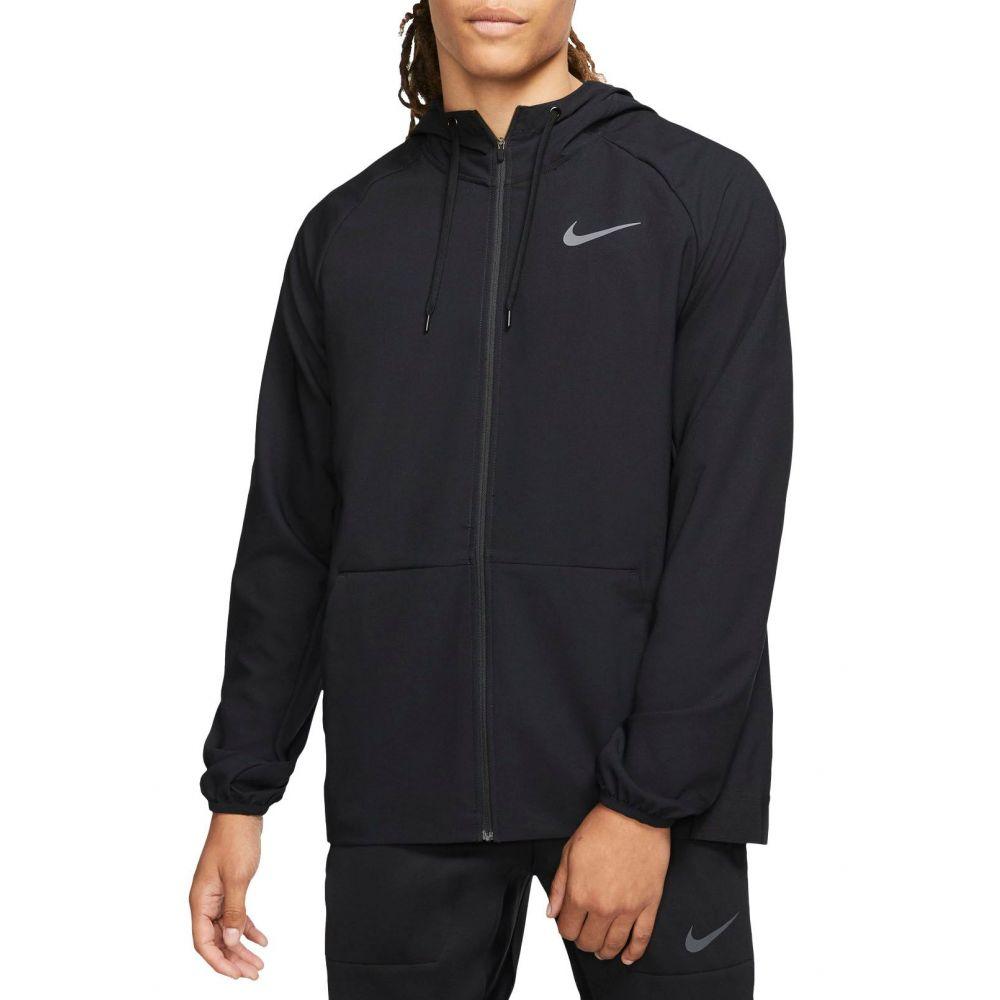 ナイキ Nike メンズ フィットネス・トレーニング ジャケット アウター【Flex Full-Zip Training Jacket】Black/Dark Grey