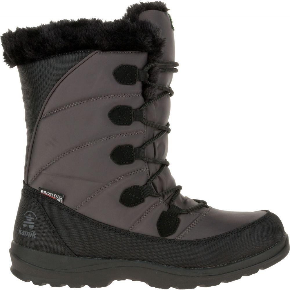 カミック Kamik レディース ブーツ ウインターブーツ シューズ・靴【Icelyn Suede Insulated Waterproof Winter Boots】Dark Brown