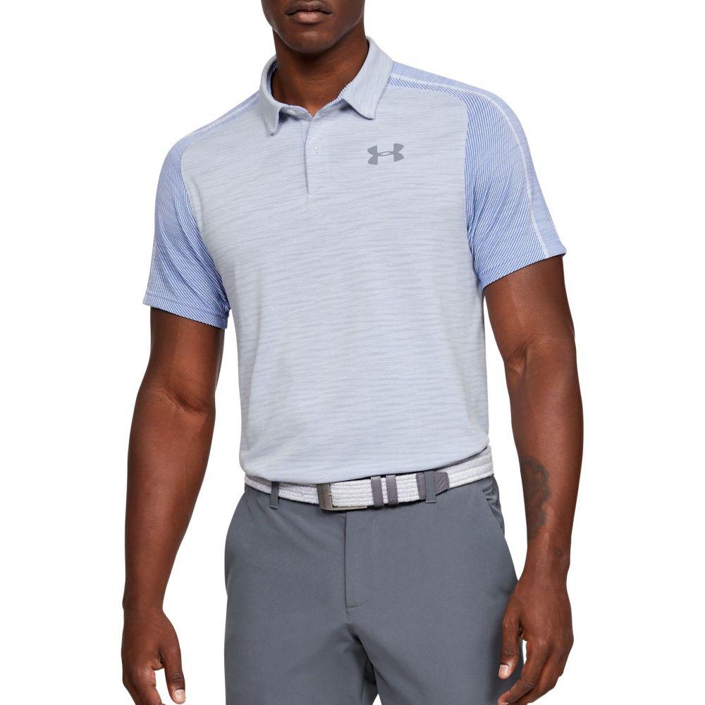 アンダーアーマー Under Armour メンズ ゴルフ ポロシャツ トップス【Vanish Seamless Golf Polo】White/Mod Gray