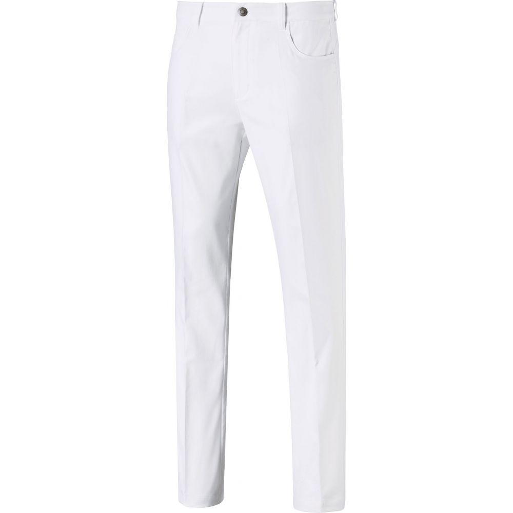 プーマ PUMA メンズ ゴルフ ボトムス・パンツ【Jackpot 5 Pocket Golf Pants】Bright White