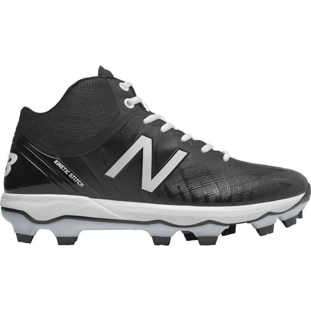 ニューバランス New Balance メンズ 野球 スパイク シューズ・靴【4040 v5 Mid Baseball Cleats】Black/White