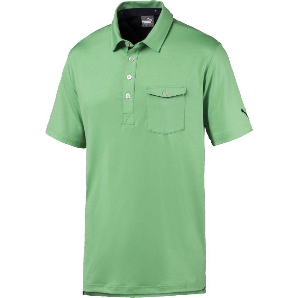 プーマ PUMA メンズ ゴルフ ポロシャツ トップス【Donegal Golf Polo】Irish Green