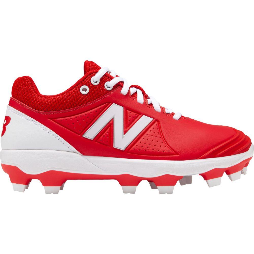 ニューバランス New Balance レディース 野球 スパイク シューズ・靴【FUSEV2 Softball Cleats】Red/White
