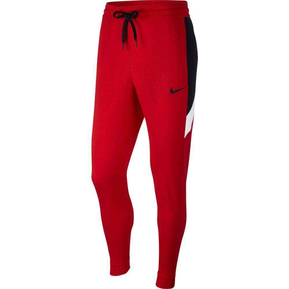 ナイキ Nike メンズ バスケットボール ドライフィット ボトムス・パンツ【Dri-FIT Showtime Basketball Pants (Regular and Big & Tall)】University Red/Wht/Blk/Bk