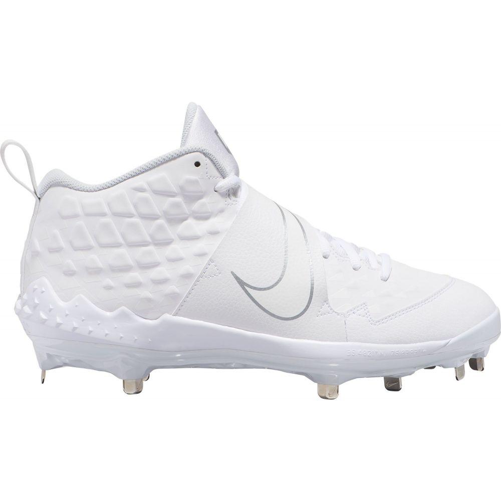 ナイキ Nike メンズ 野球 スパイク シューズ・靴【Force Trout 6 Pro Metal Baseball Cleats】White/Silver