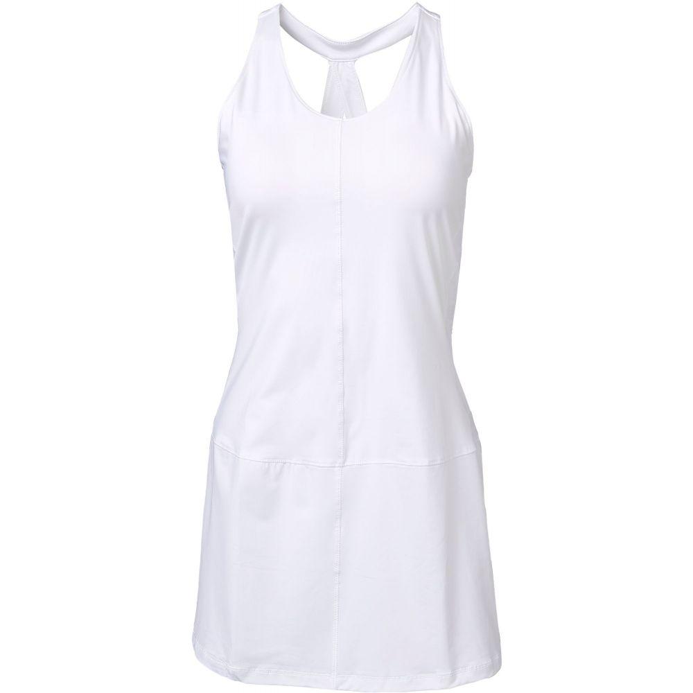 フィラ Fila レディース テニス ワンピース トップス【FILA Court Allure Tennis Dress】White