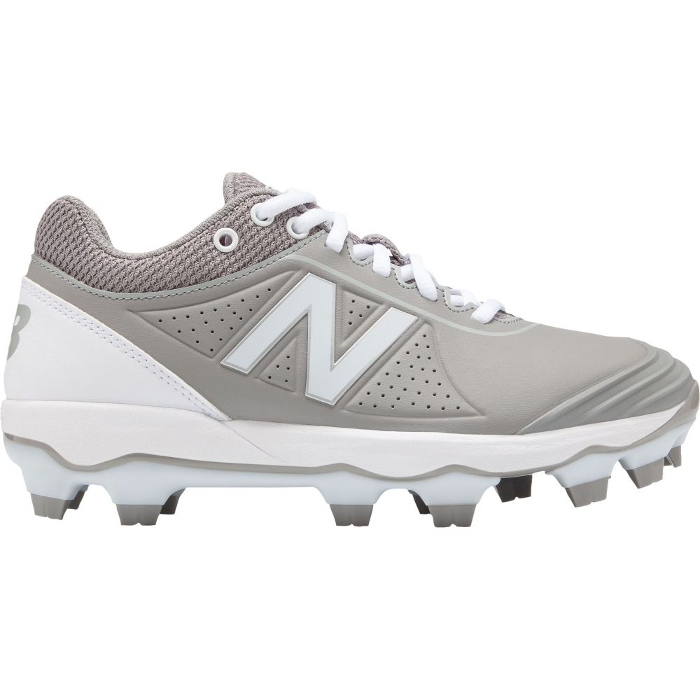 ニューバランス New Balance レディース 野球 スパイク シューズ・靴【FUSEV2 Softball Cleats】Grey/White