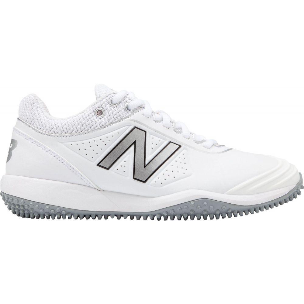ニューバランス New Balance レディース 野球 シューズ・靴【FUSEV2 Softball Turf Shoes】White/Silver