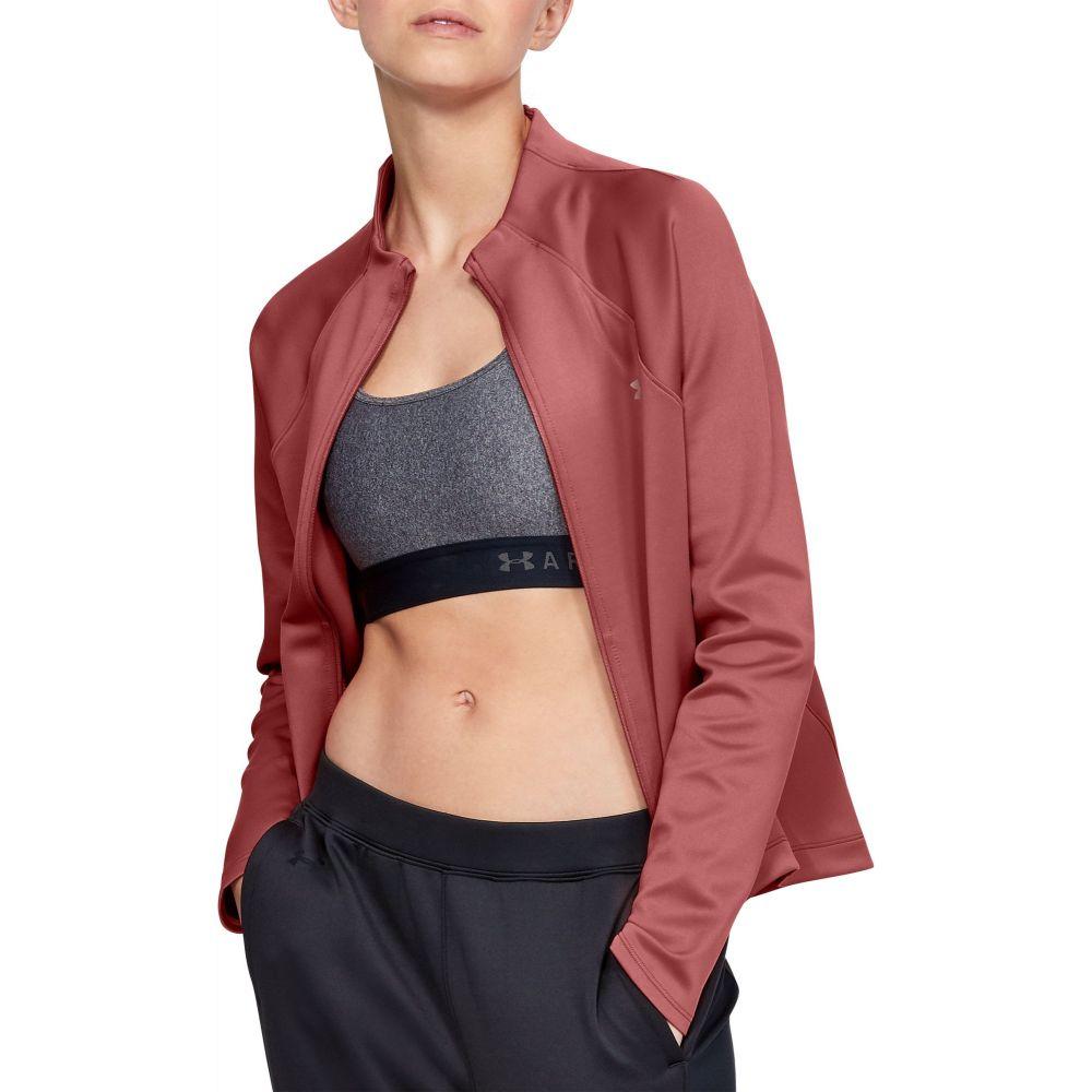 アンダーアーマー Under Armour レディース ジャケット アウター【ColdGear Armour Full-Zip Mock Neck Jacket】Fractal Pink/Tonal