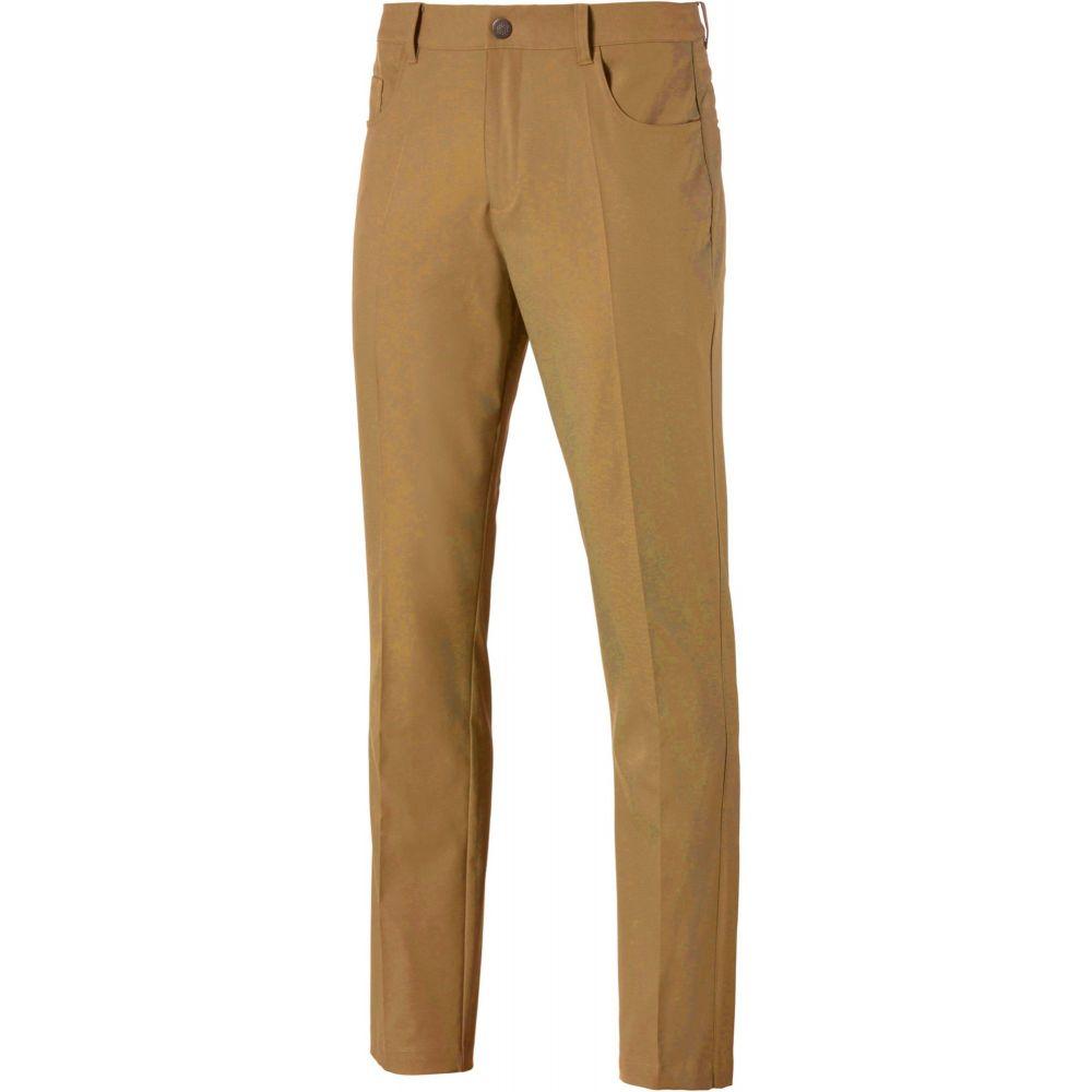 プーマ メンズ ゴルフ ボトムス・パンツ 【サイズ交換無料】 プーマ PUMA メンズ ゴルフ ボトムス・パンツ【Jackpot 5 Pocket Golf Pants】Antique Bronze