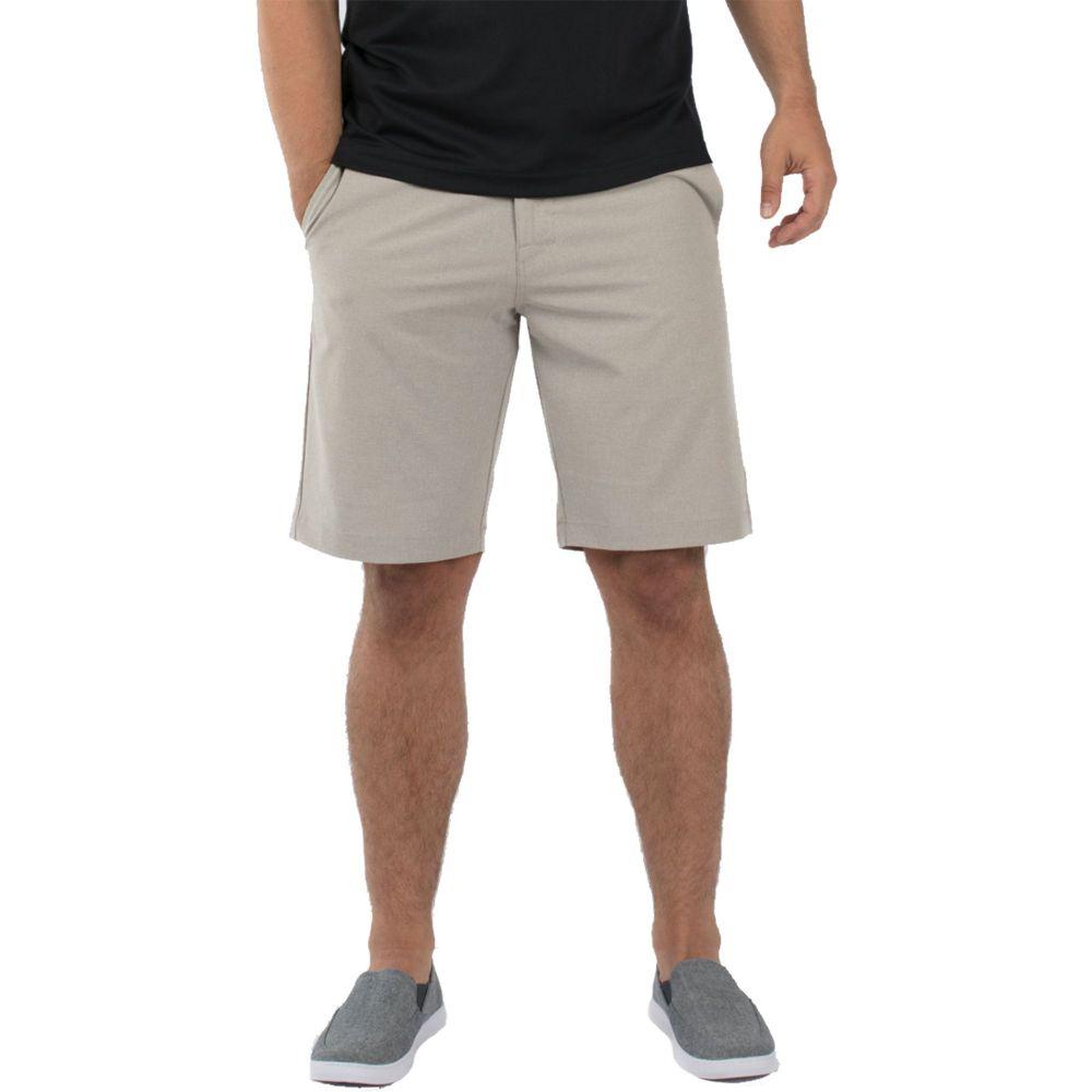 トラビスマシュー メンズ ゴルフ ボトムス・パンツ 【サイズ交換無料】 トラビスマシュー TravisMathew メンズ ゴルフ ショートパンツ ボトムス・パンツ【Beck Golf Shorts】Khaki