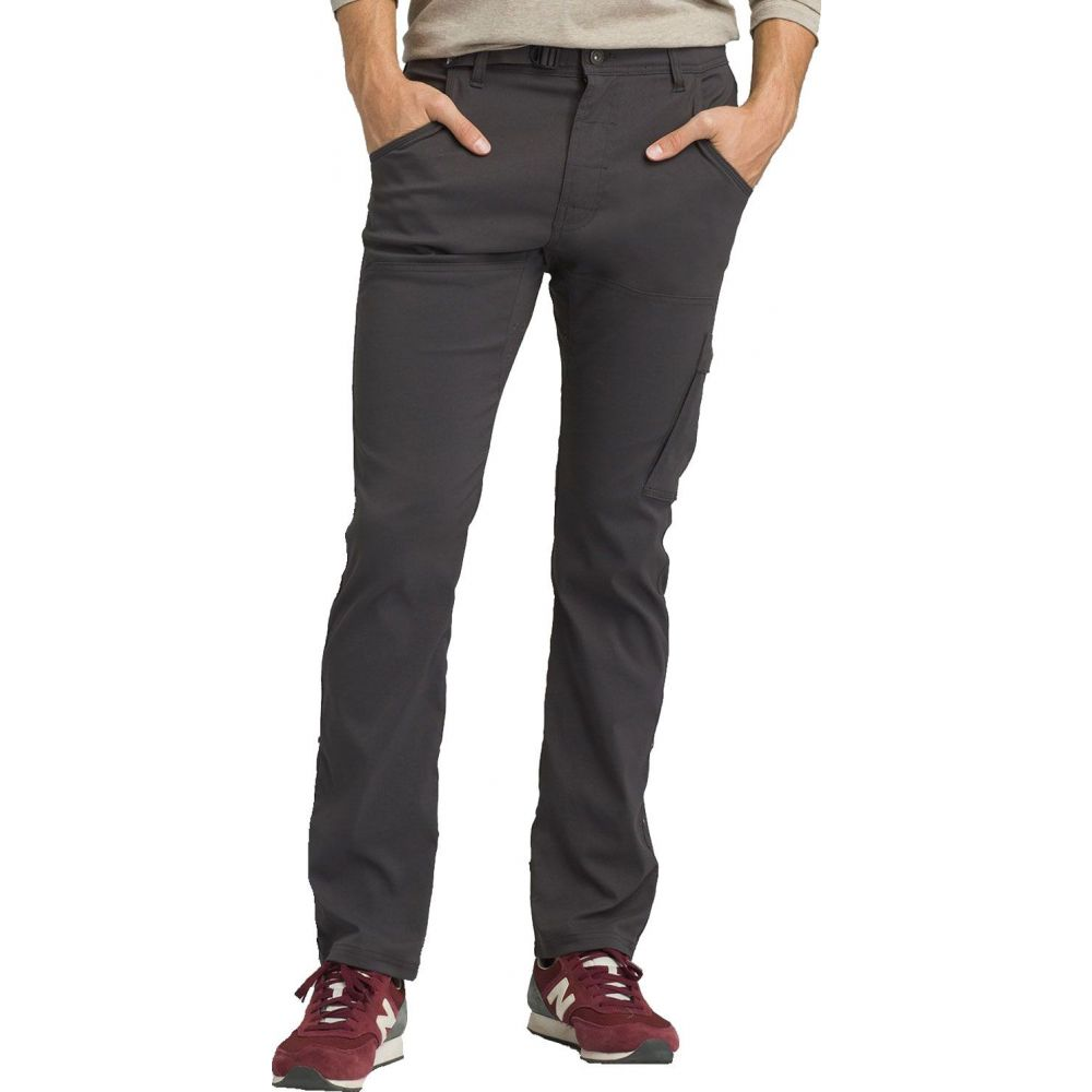 プラーナ prAna メンズ ボトムス・パンツ 【Stretch Zion Straight Pants (Regular and Big & Tall)】Charcoal