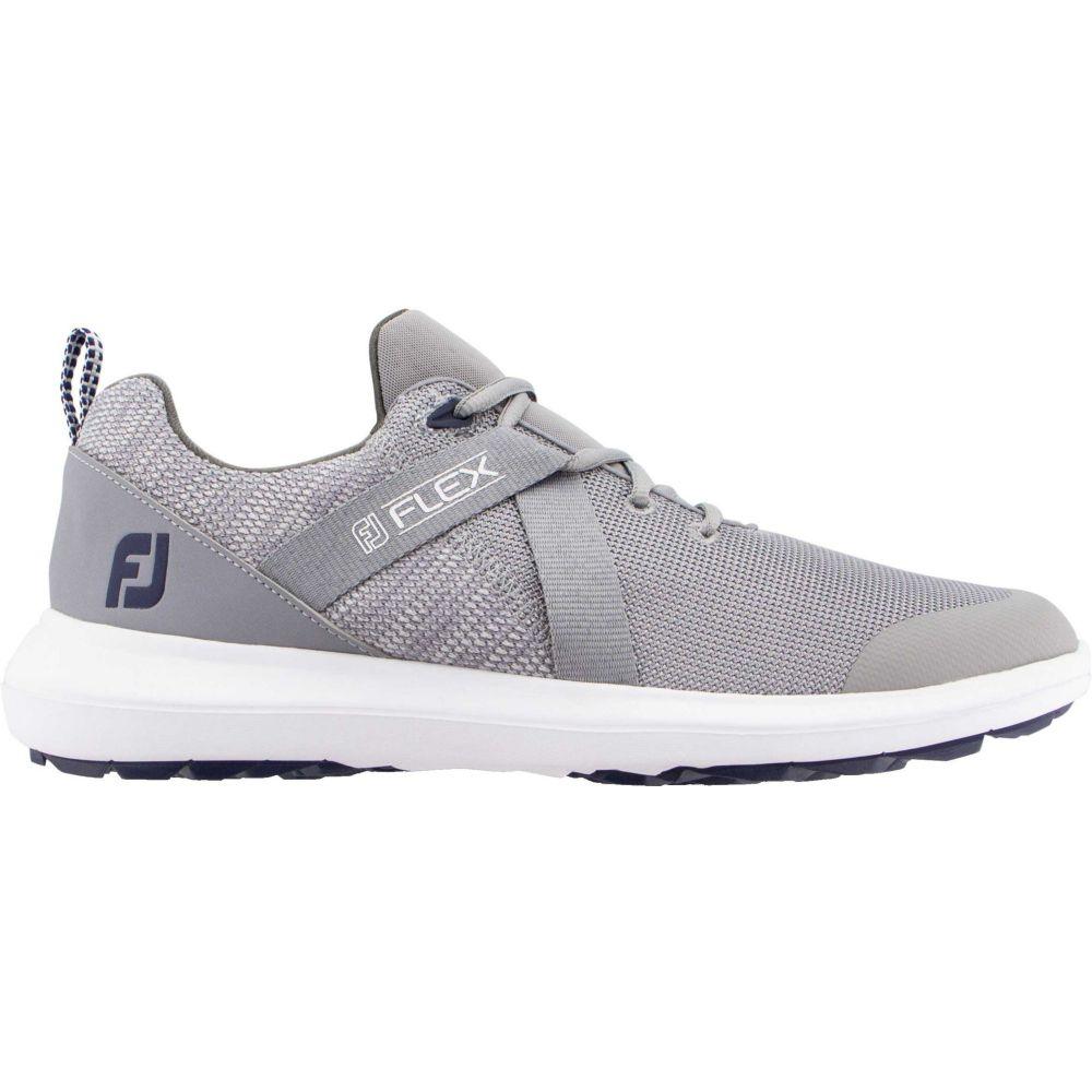 フットジョイ FootJoy メンズ ゴルフ シューズ・靴【Flex Golf Shoes】Grey
