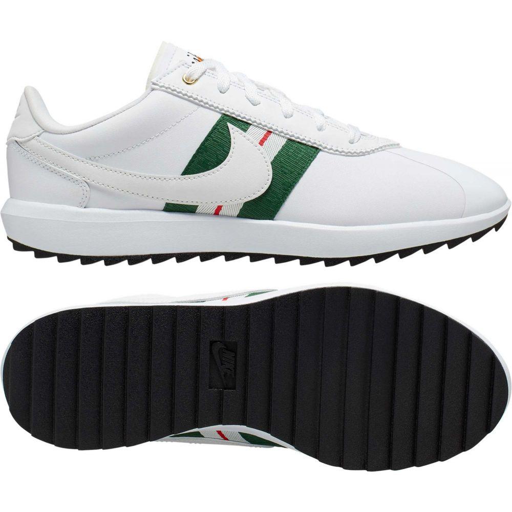 ナイキ Nike レディース ゴルフ シューズ・靴【Cortez G Golf Shoes】White/Green