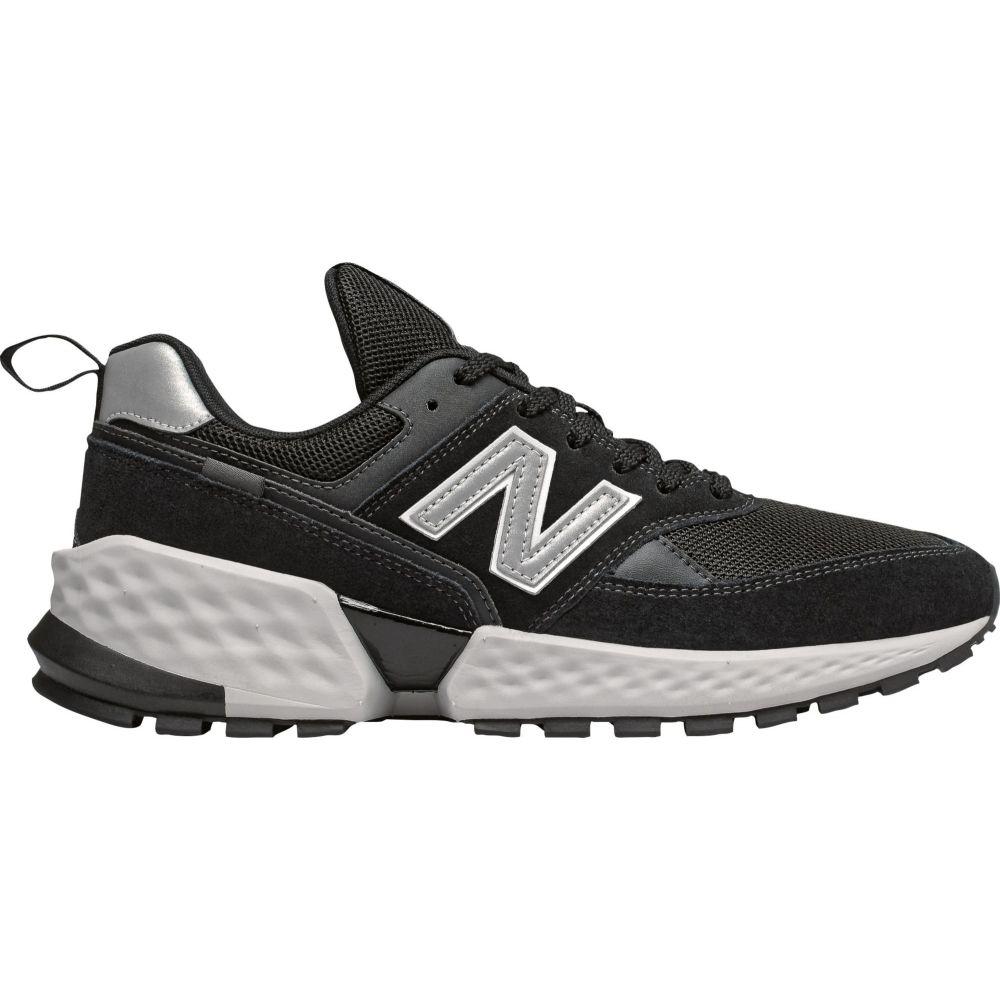 ニューバランス New Balance メンズ シューズ・靴 【574 Sport Shoes】Black/Silver Metallic
