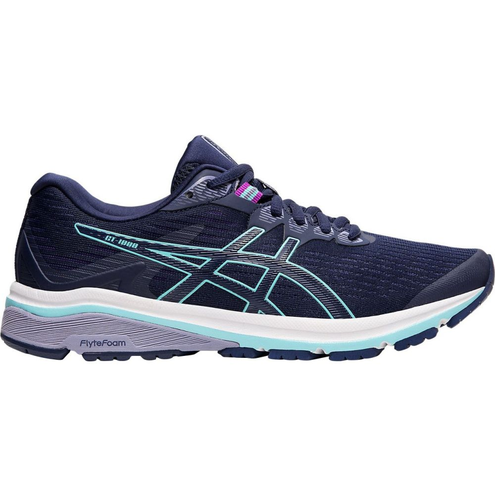 アシックス ASICS レディース ランニング・ウォーキング シューズ・靴【GT-1000 8 Running Shoes】Blue/Mint/Silver